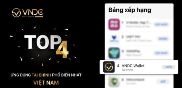 Cộng đồng VNDC xếp Top 4 tại Việt Nam