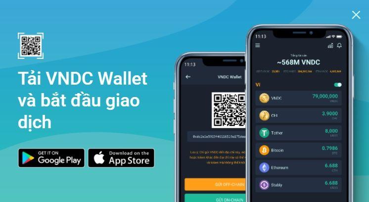 Tải app VNDC Wallet Pro