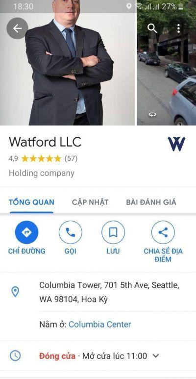 Tìm Hiểu Dự Án Watford Corp - Trả lãi theo tuần Từ Mỹ 3