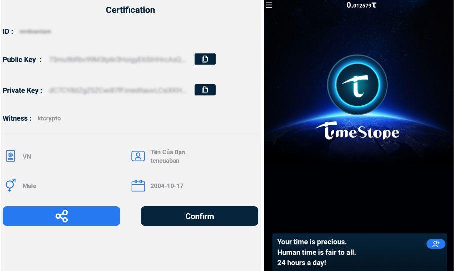 Đăng ký tài khoản TimeStope - Hình 03