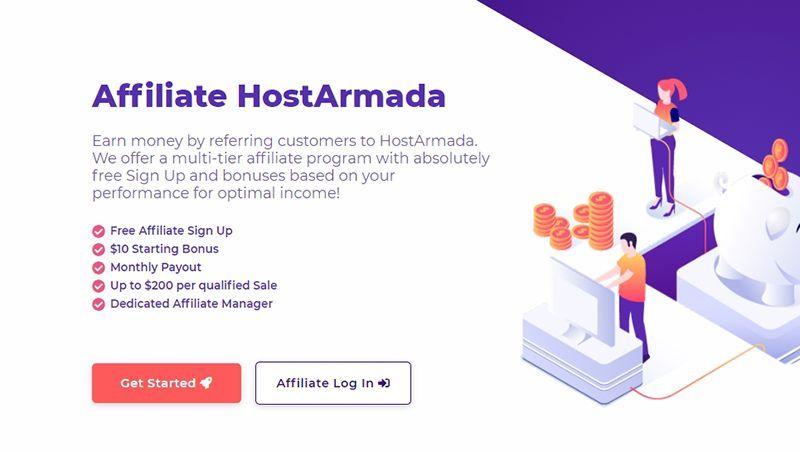 Kiếm tiền với HostArmada Affiliate | Hơn $1000/tháng đơn giản từ A-Z