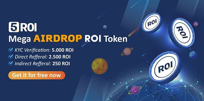 Hướng dẫn cách kiếm ROI Token - Airdrop ROI token