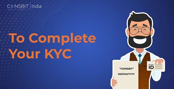 Xác thực tài khoản sàn Coinsbit (KYC)