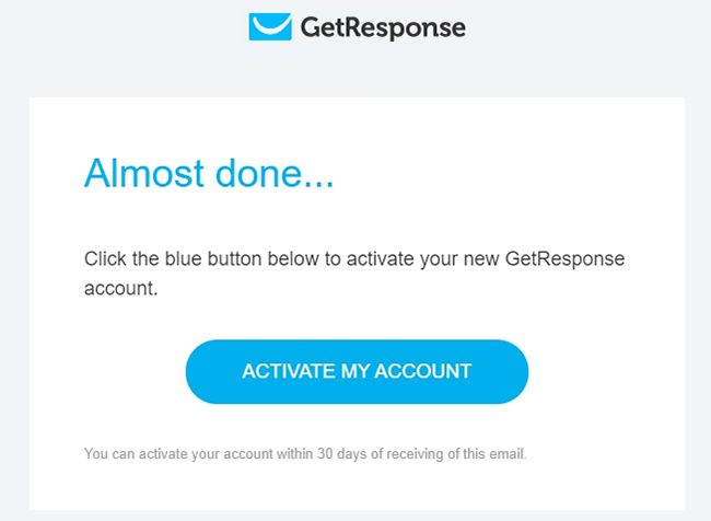 Hướng dẫn Getresponse - Đăng ký tài khoản Getresponse